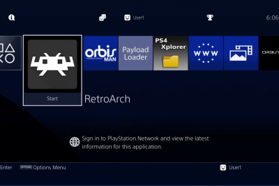 【PS4】Retroarch for PS4 R2 中文美化版全能模拟器